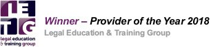 Training provider of the year