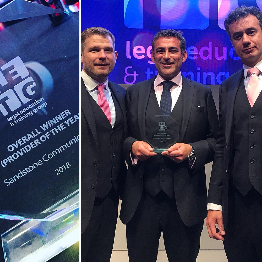 Training provider of the Year 2018 - Legal, Education and Training Group