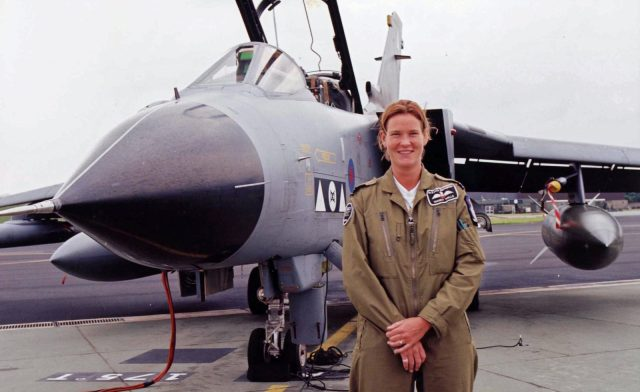 Former fighter pilot joins the team ... Welcome Mandy Hickson
